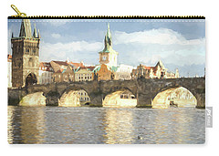 The Charles Bridge Carry-all Pouch by Wade Brooks