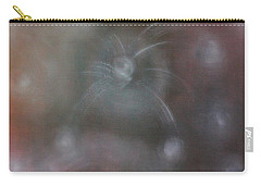 Carry-all Pouch featuring the painting The Charm Of Arts by Min Zou