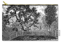 The Charter Oak From A Painting By Isaac W. Stuart Carry-all Pouch