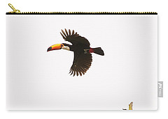 Carry-all Pouch featuring the photograph The Chase by Alex Lapidus