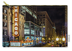 The Chicago Theatre Carry-all Pouch