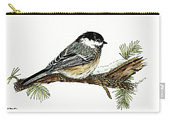 The Chickadee Carry-all Pouch