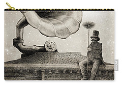 The Chimney Sweep Monochrome Carry-all Pouch