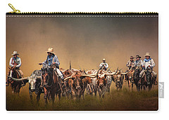 The Chisolm Trail Carry-all Pouch by David and Carol Kelly