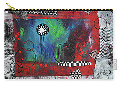 Carry-all Pouch featuring the painting The Chosen One by Kate Word