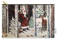 The Christmas Forest Visitor Carry-all Pouch