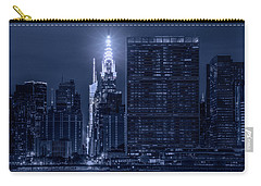 Carry-all Pouch featuring the photograph The Chrysler Star by Theodore Jones