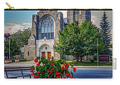 Carry-all Pouch featuring the photograph The Church In Summer by Kendall McKernon