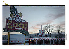 Carry-all Pouch featuring the photograph The Circus Drive In Wall Township Nj by Terry DeLuco