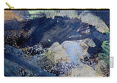 Carry-all Pouch featuring the painting The City And The Mountain by Nancy Kane Chapman