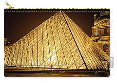 The City Of Paris At Night Carry-all Pouch