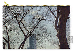 The City Through The Trees Carry-all Pouch