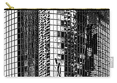Carry-all Pouch featuring the photograph The City Within by Az Jackson