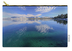 Carry-all Pouch featuring the photograph The Clarity Of Winter by Sean Sarsfield