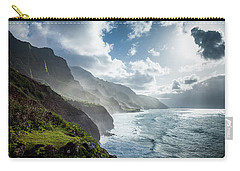 The Cliffs Of Kalalau Carry-all Pouch