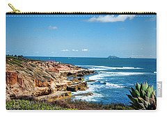 The Cliffs Of Point Loma Carry-all Pouch