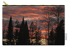 Carry-all Pouch featuring the photograph The Close Of Day by DeeLon Merritt