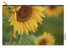 The Close Up Of Sunflowers Carry-all Pouch