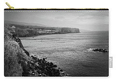 The Coast Of Terceira Carry-all Pouch by Kelly Hazel