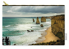 Carry-all Pouch featuring the photograph The Coast by Perry Webster
