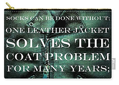 The Coat Problem 2.0 Carry-all Pouch