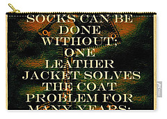 The Coat Problem Carry-all Pouch