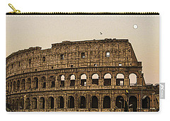The Coliseum And The Full Moon Carry-all Pouch