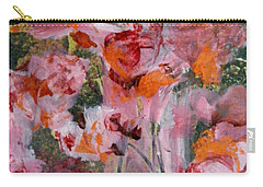 Carry-all Pouch featuring the painting The Color Of Summer by Nancy Kane Chapman