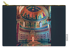 The Colorful Interior Of Roman Catholic Cathedral Carry-all Pouch