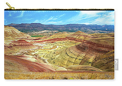 The Colorful Painted Hills In Eastern Oregon Carry-all Pouch