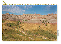 Carry-all Pouch featuring the photograph The Colors Of Badlands National Park by Brenda Jacobs