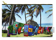 Carry-all Pouch featuring the photograph The Colors Of Barbados by Kurt Van Wagner