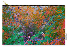 The Colors Of Fall By Lisa Kaiser Carry-all Pouch