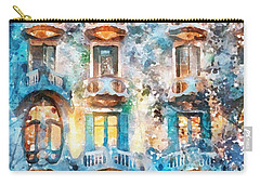 The Colors Of Spain Carry-all Pouch by Shirley Stalter