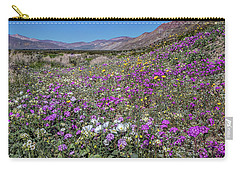 Carry-all Pouch featuring the photograph The Colors Of Spring Super Bloom 2017 by Peter Tellone