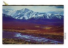 The Colors Of Toklat River Carry-all Pouch
