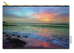 Carry-all Pouch featuring the photograph The Colour Before The Darkness by Tara Turner