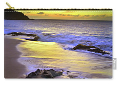 Carry-all Pouch featuring the photograph The Colour Of Molokai Nights by Tara Turner