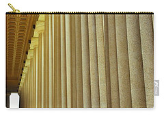 The Columns At The Parthenon In Nashville Tennessee Carry-all Pouch