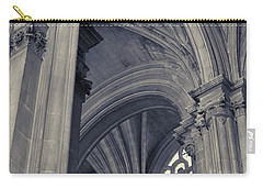 The Columns Of Saint-eustache, Paris, France. Carry-all Pouch