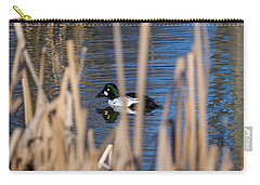The Common Goldeneye Male Carry-all Pouch