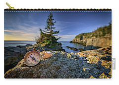 Carry-all Pouch featuring the photograph The Compass by Rick Berk