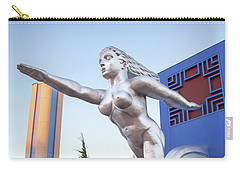 The Contralto Statue, The State Fair Of Texas Esplanade Carry-all Pouch