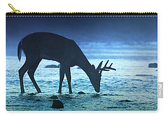 The Cool Of The Night - Square Carry-all Pouch by Rob Blair