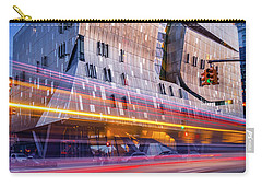 Carry-all Pouch featuring the photograph The Cooper Union Nyc by Susan Candelario