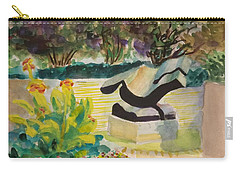 The Corinthian Garden Carry-all Pouch