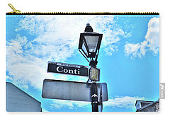 The Corner Of Conti Carry-all Pouch