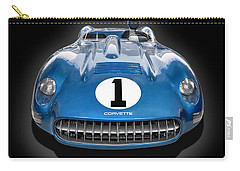The  1957 Corvette Ss Carry-all Pouch by Gary Warnimont