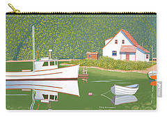 The Cottage At Blackberry Point Carry-all Pouch