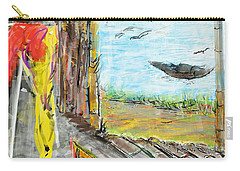 The Cottage By The River Carry-all Pouch